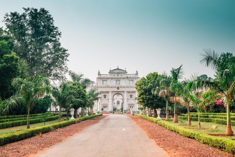 Jai Vilas Palace in Gwalior, India. Jai Vilas Palace historical architecture in Gwalior, India stock photos