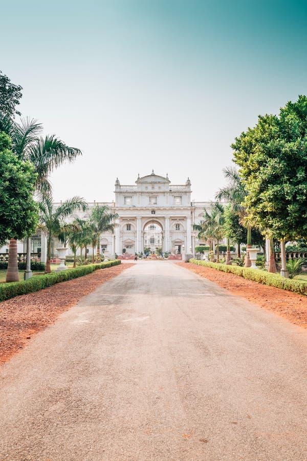 Jai Vilas Palace i Gwalior, Indien arkivbilder
