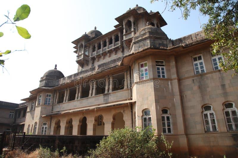 Jai vilas Palace in jawhar, Maharashtra, India December 24 2017 stock image