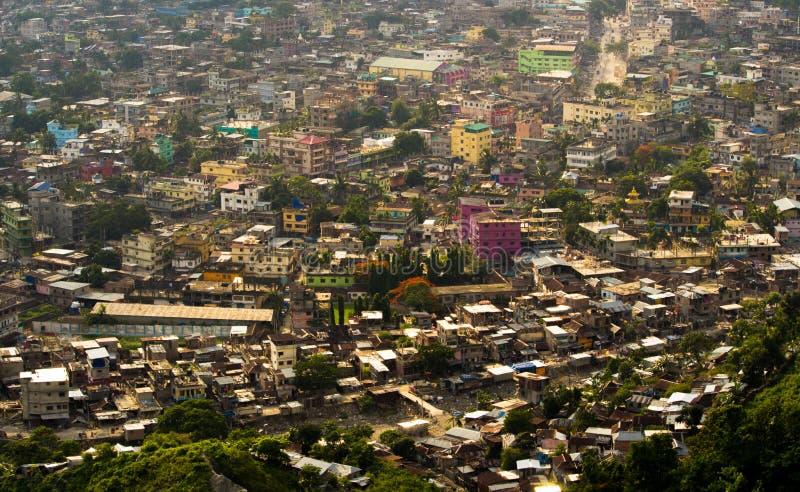 Jaigaon stad royaltyfri fotografi