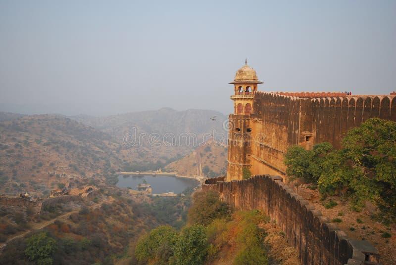 Jaigarh fort, Jaipur arkivfoto