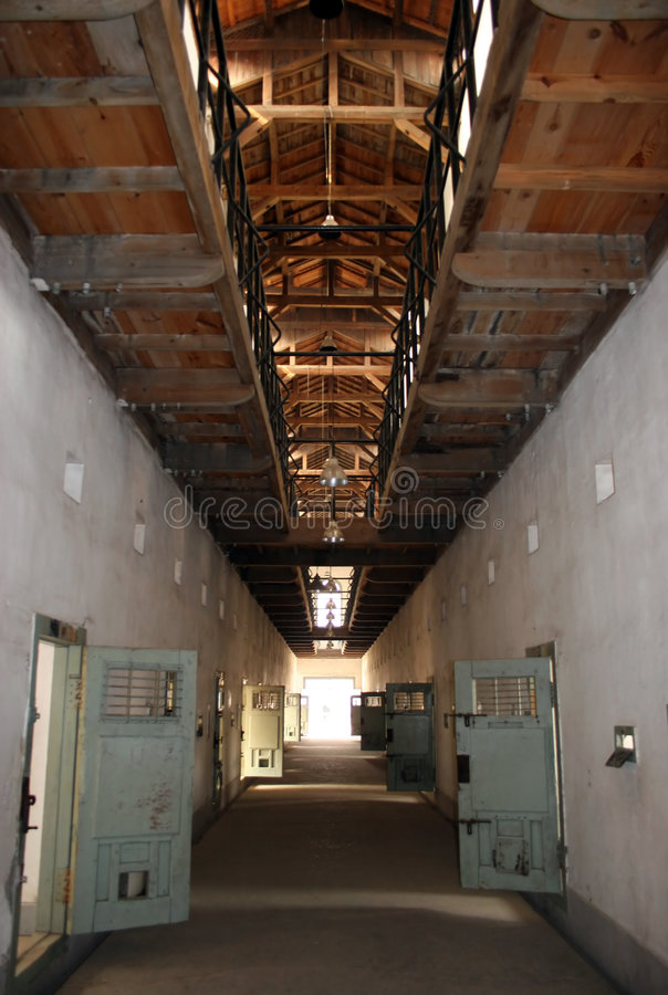 Jail. Seodaemun Prison History Hall, Seoul, South Korea was forcibly built during the Japanese occupation (1910-45 royalty free stock photos