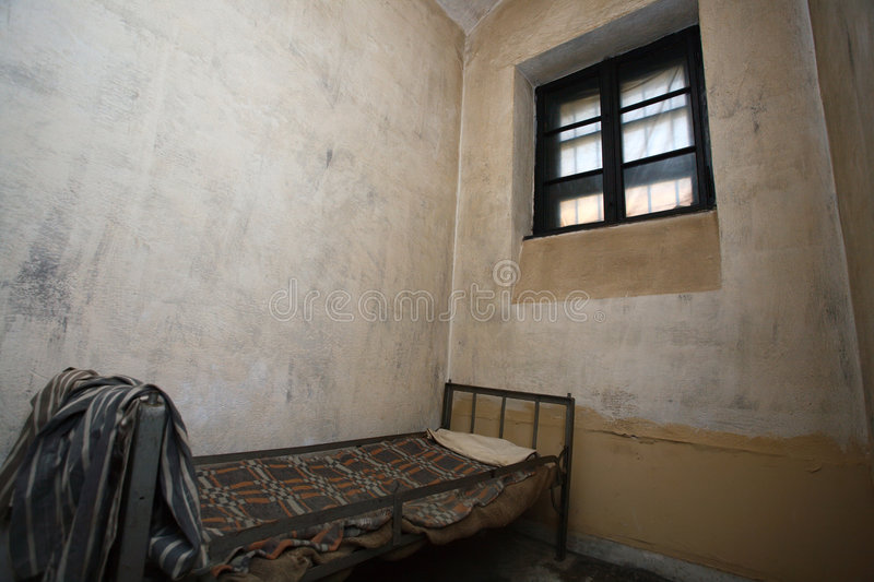Jail cell royalty free stock photo