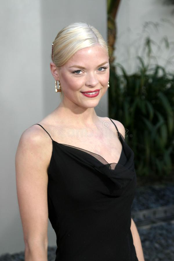 Jaime King fotografia de stock royalty free