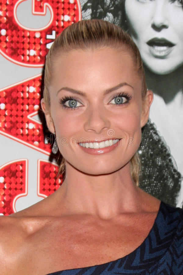Jaime Pressly Arrives At The Opening Night Of The Play Editorial Stock Photo