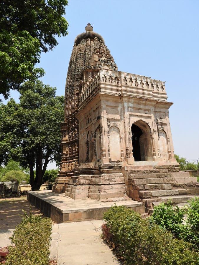 Jain świątynie w Khajuraho Wschodnia grupa Khajuraho świątynie, Madhya Pradesh, India obrazy stock