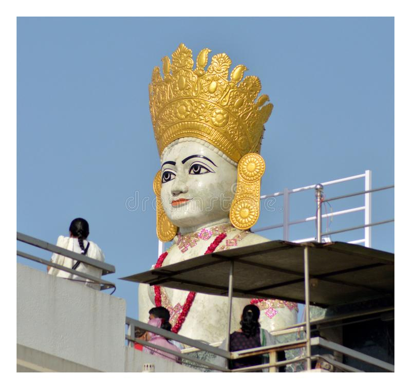 Jain бог стоковое изображение