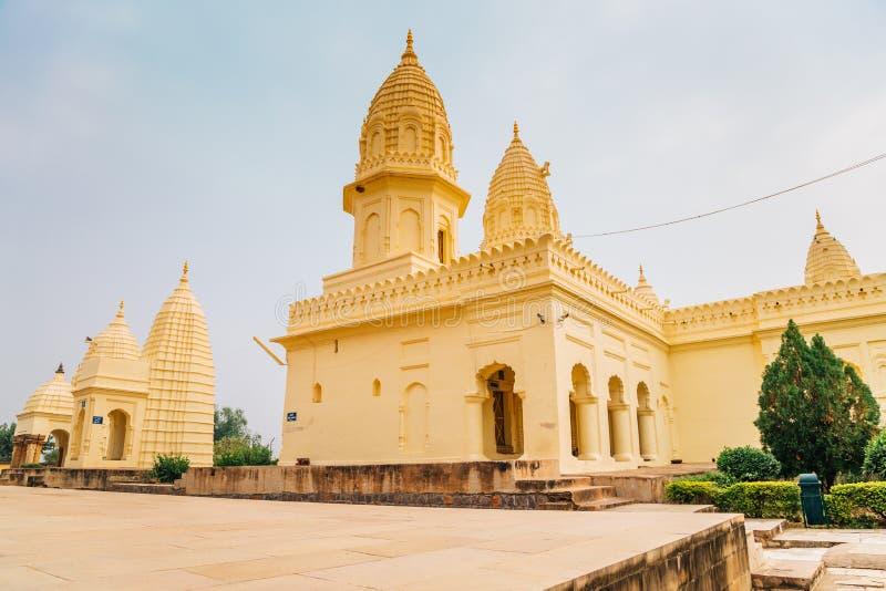 Jain Gruppe Tempel im khajuraho, Indien stockfoto