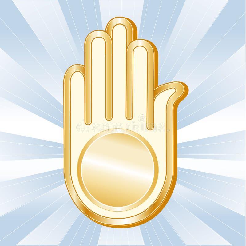 Download Jain Symbol stock vector. Illustration of belief, pastel - 17272807