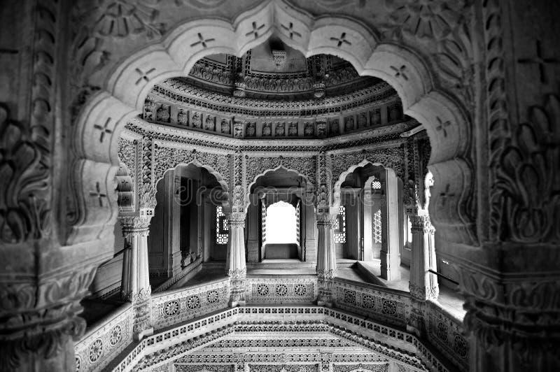 Jain temple architecture stock images