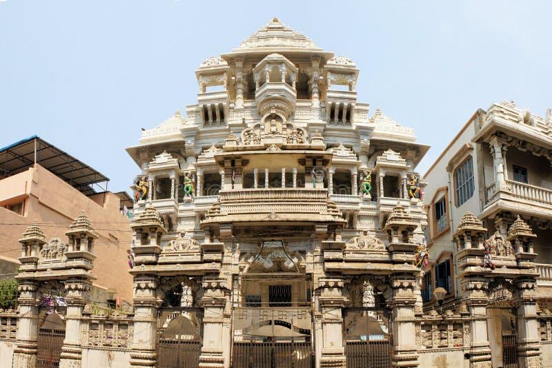 Jain Temple in Chennai, India. Jain Temple at Rattan Bazaar in Central Chennai, India stock photo
