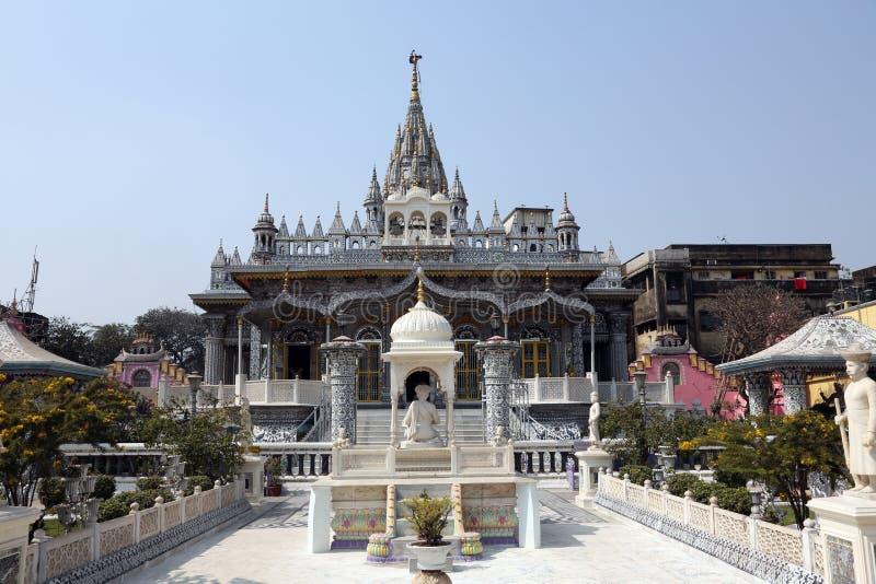 Jain Temple, Kolkata,. West Bengal, India stock image