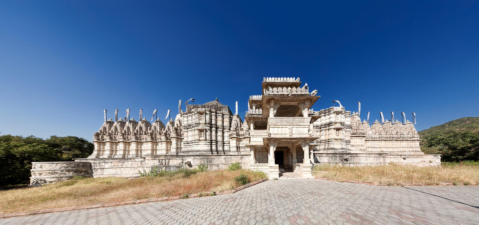 Jain Temple in Ranakpur,India royalty free stock photography