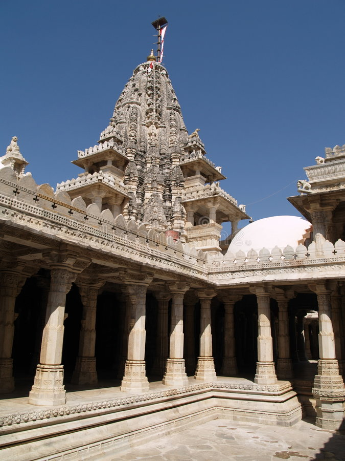 Download Jain Temple,Ranakpur,India stock image. Image of hinduism - 8579503