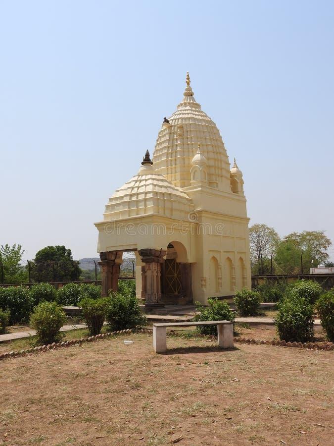 Jaintempels van liefde en geslachtsthema's in Khajuraho Oostelijke groep Khajuraho-tempels, Madhya Pradesh, India, Unesco-erfenis royalty-vrije stock foto