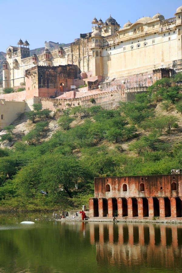 Download Jaipur fotografia stock. Immagine di arte, collina, costruzione - 3137114