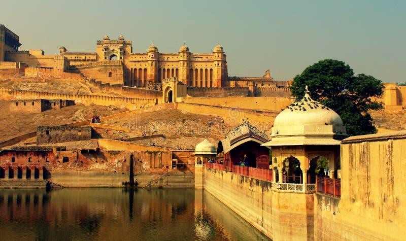 Jaipur Fort royaltyfria foton