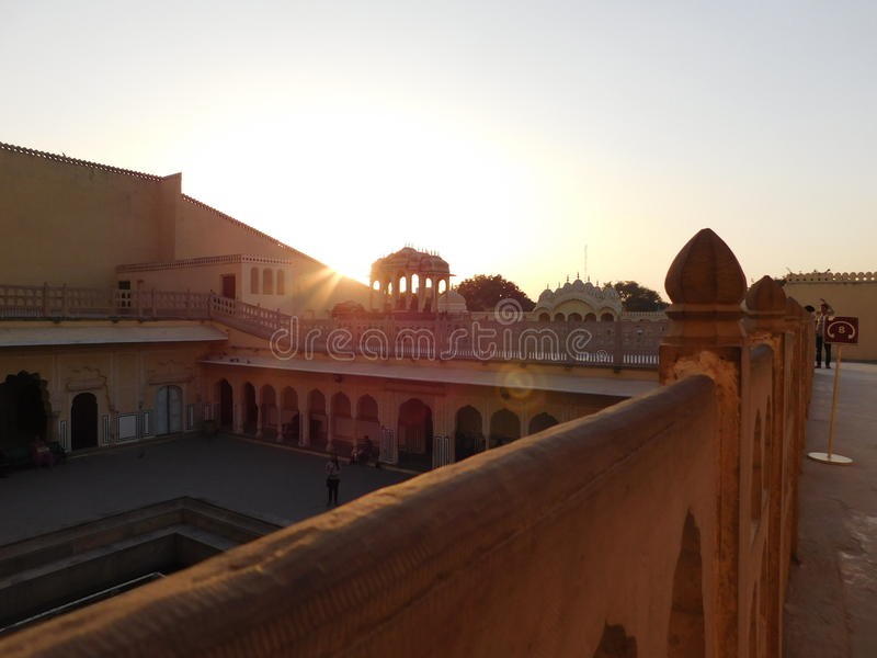 Jaipur-hawamahel lizenzfreie stockfotos