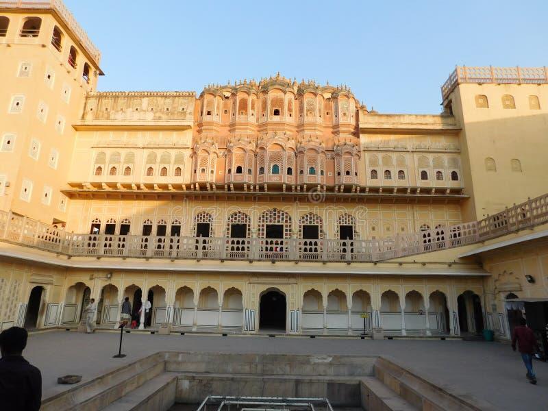 Jaipur-hawamahel stockbild