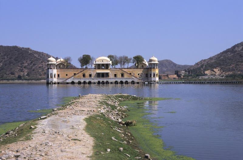 jaipur jeziora pałacu obrazy stock