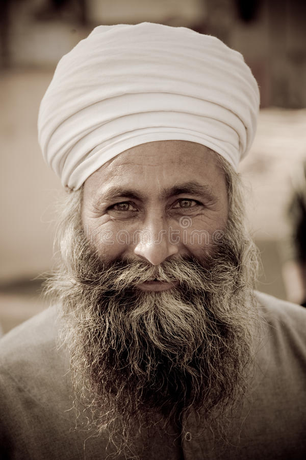 Download Jaipur man in a turban editorial photography. Image of life - 17801412