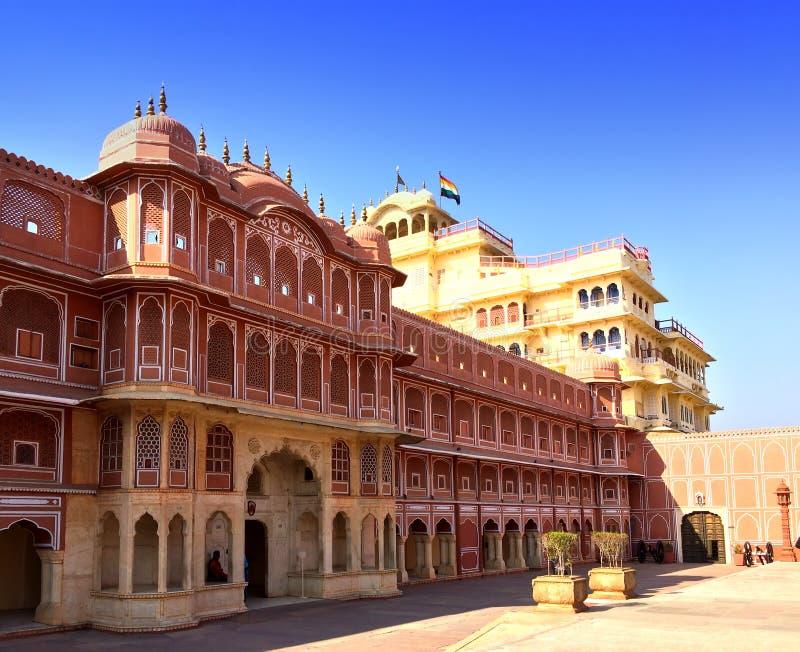 jaipur Miasto pałac pałac maharaja obrazy stock