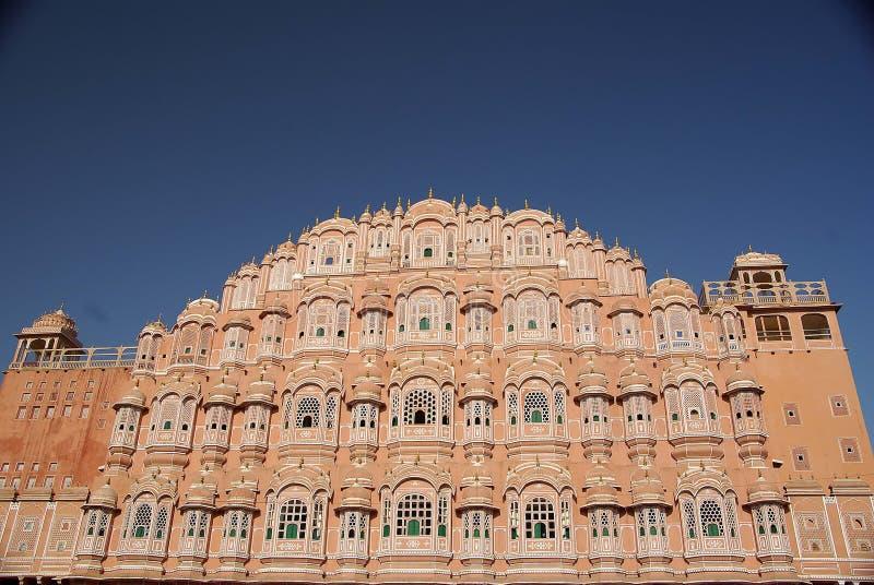 jaipur pałac Rajasthan wiatr zdjęcia stock