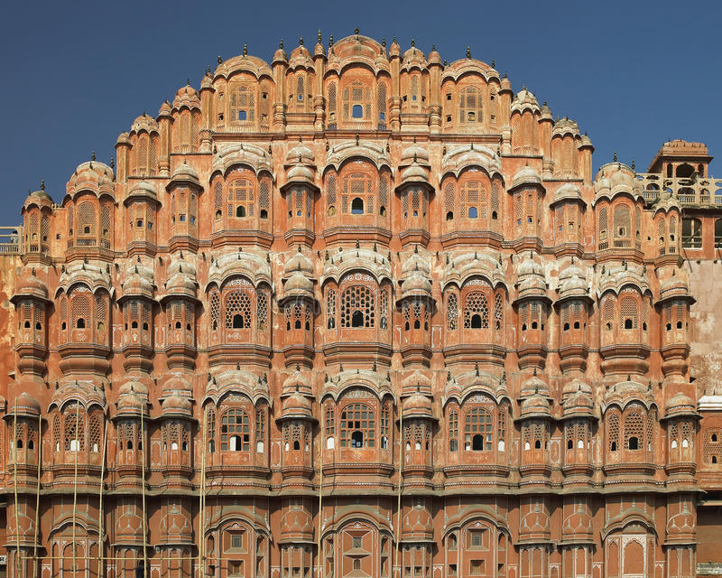 Jaipur - Palace of the Winds - India royalty free stock photos