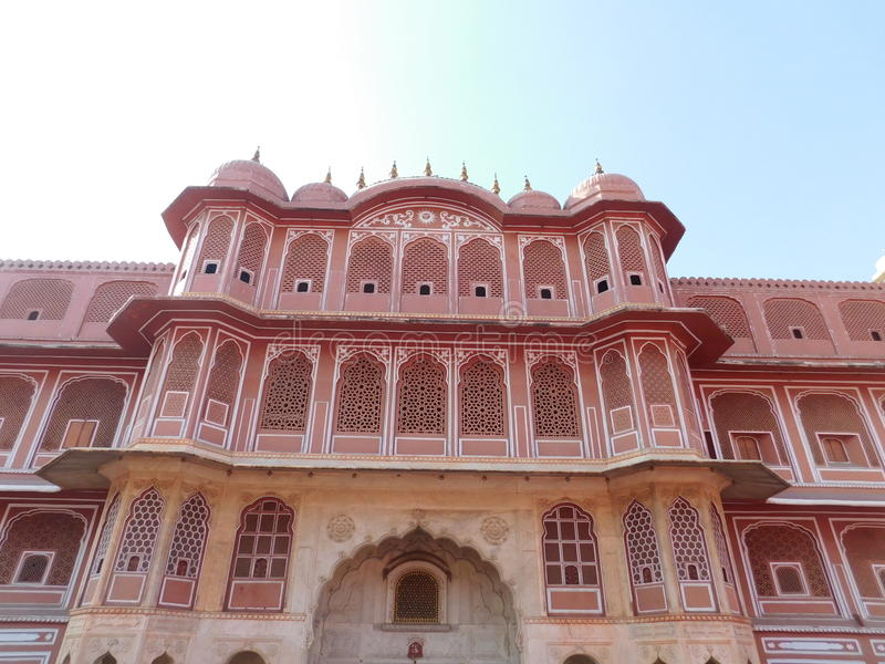 Jaipur-Palast lizenzfreie stockfotos