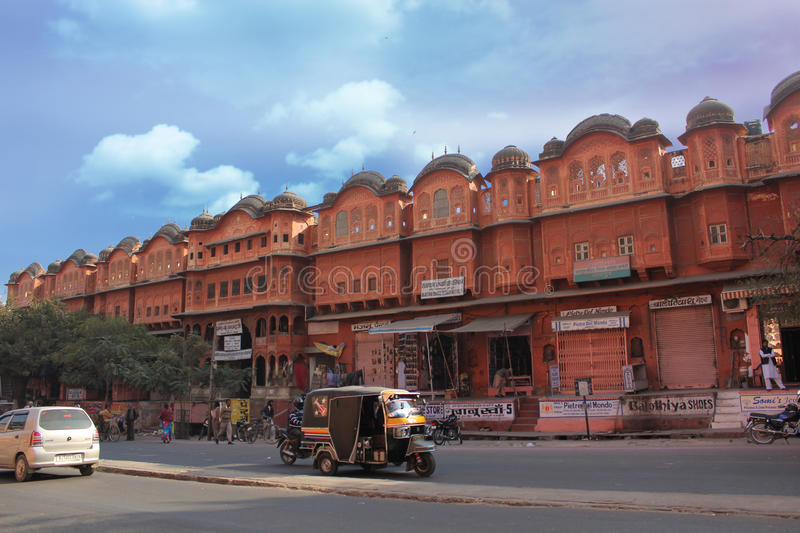 Jaipur - the pink city. The pink city of Jaipur, India royalty free stock photography