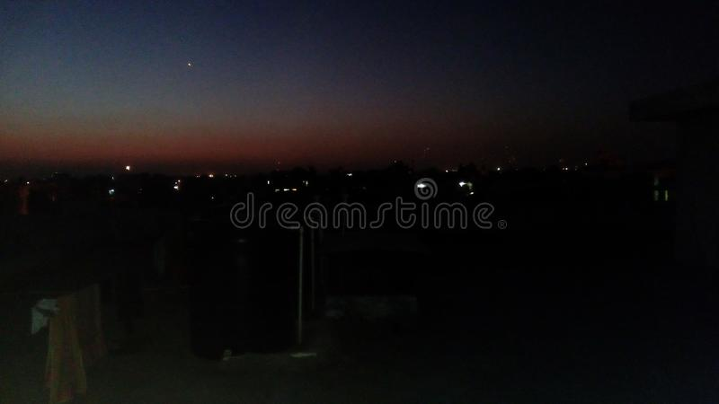 Evening view of jaipur royalty free stock image