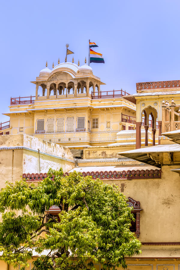 jaipur Stad Palace stock foto