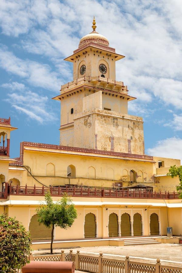 jaipur Stad Palace royalty-vrije stock afbeelding