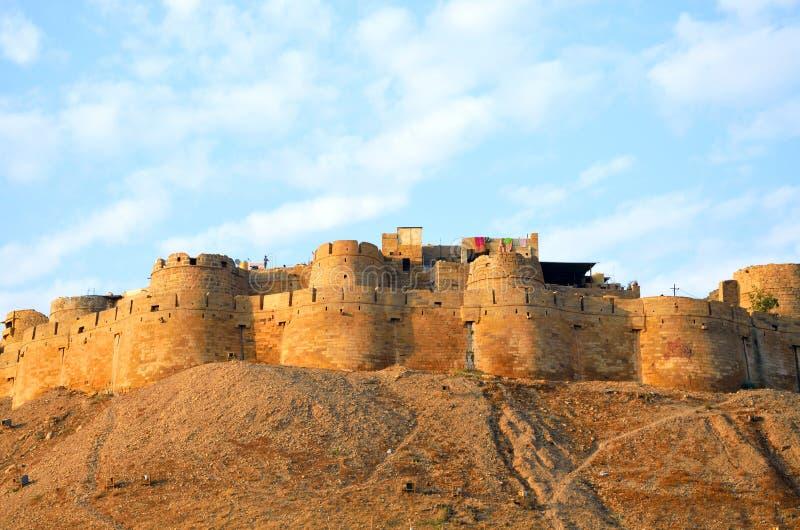 Jaisalmer堡垒 库存图片