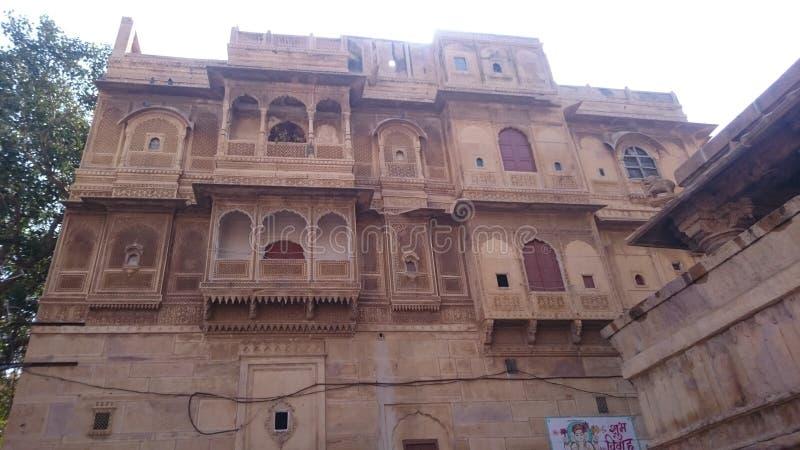 Jaisalmer堡垒 免版税库存图片