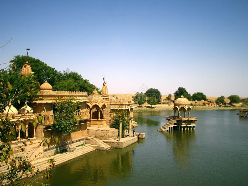 jaisalmer λίμνη στοκ φωτογραφία