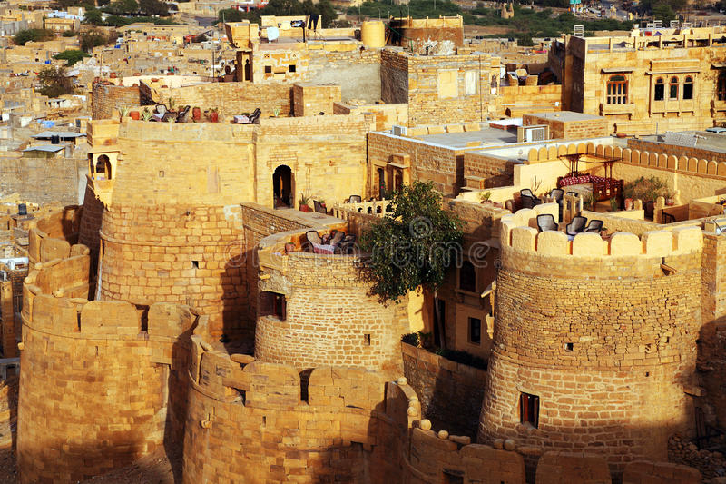 Download Jaisalmer Fort stock photo. Image of carved, asian, fort - 24546134