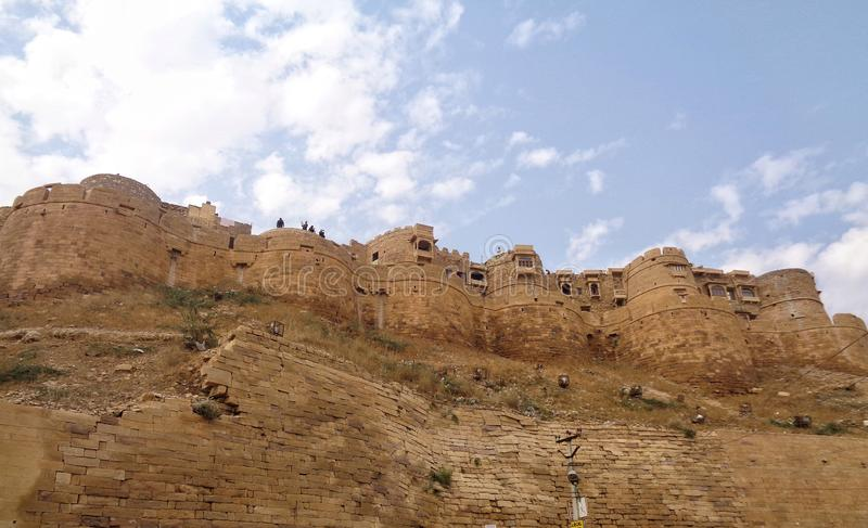 Jaisalmer fort zdjęcia stock