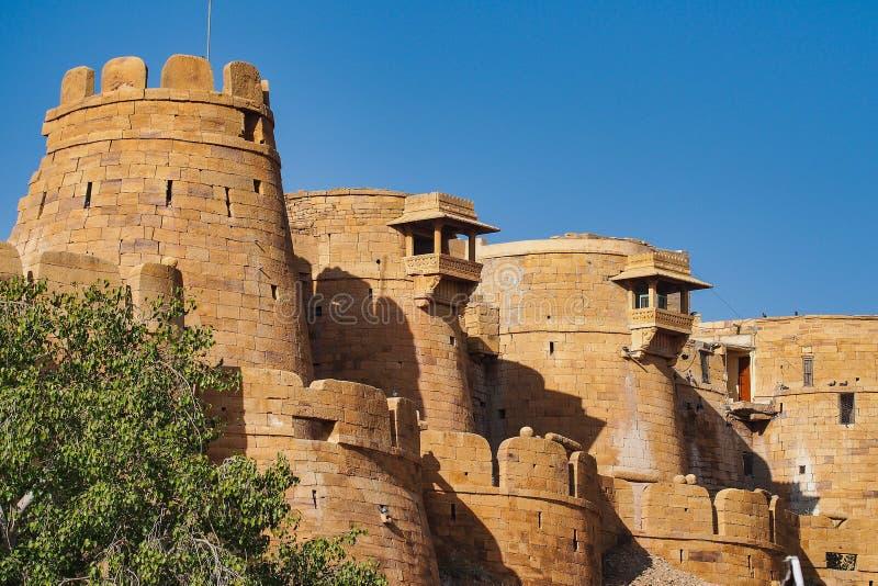 Jaisalmer Fort in Jaisalmer, Rajasthan in India royalty free stock image