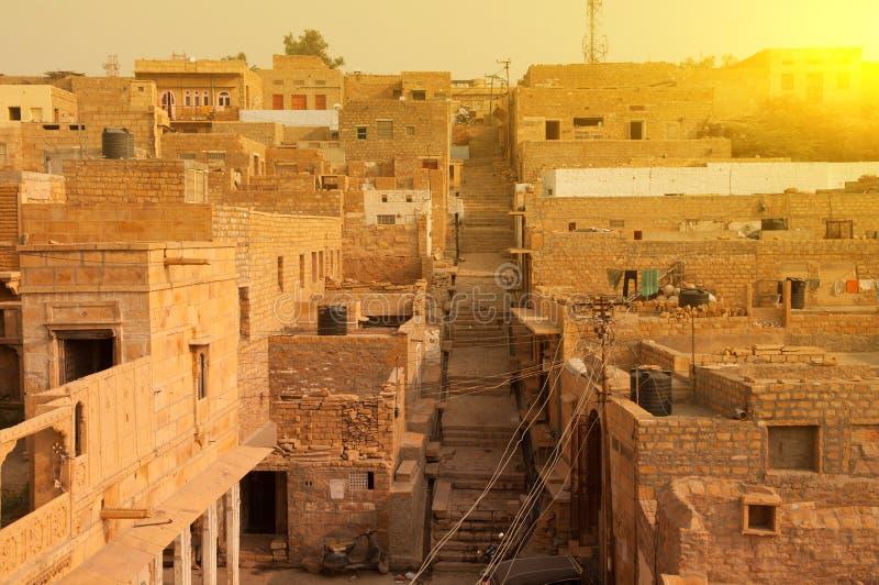Jaisalmer miasto fotografia royalty free