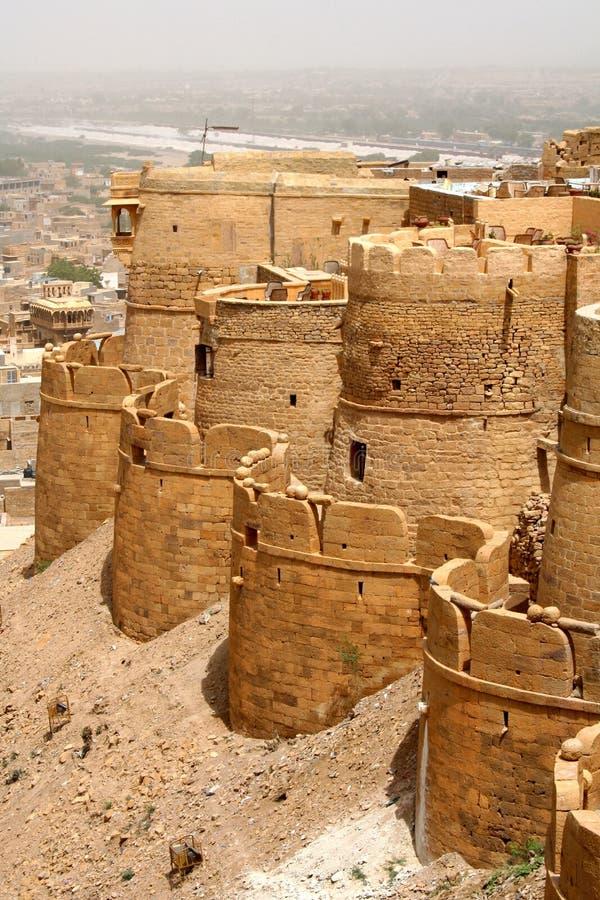 Jaisalmer, Rajastan royalty-vrije stock fotografie