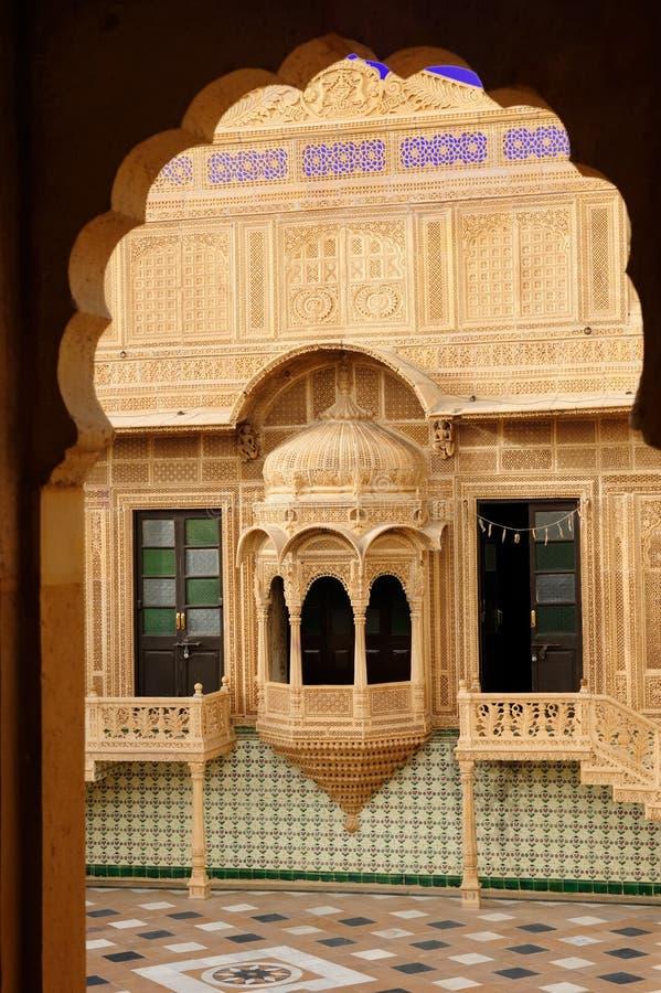 Jaisalmer Stadt stockbilder
