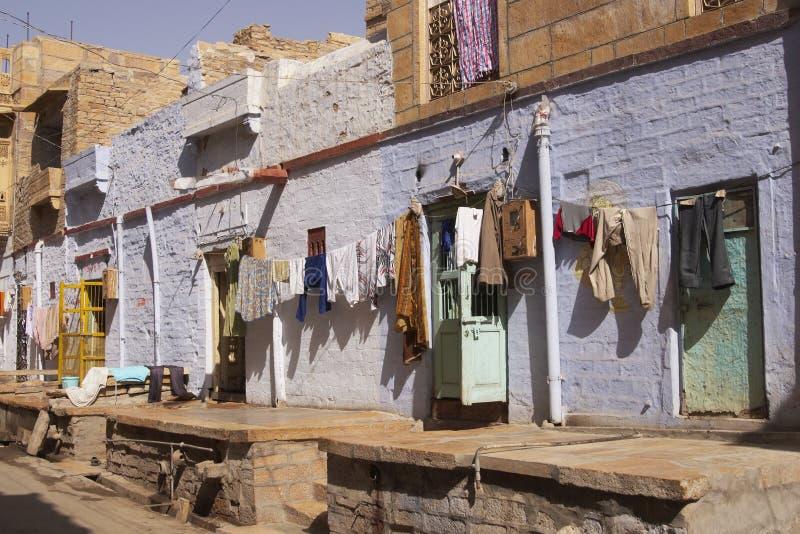 Jaisalmer Straßen-Szene lizenzfreies stockbild