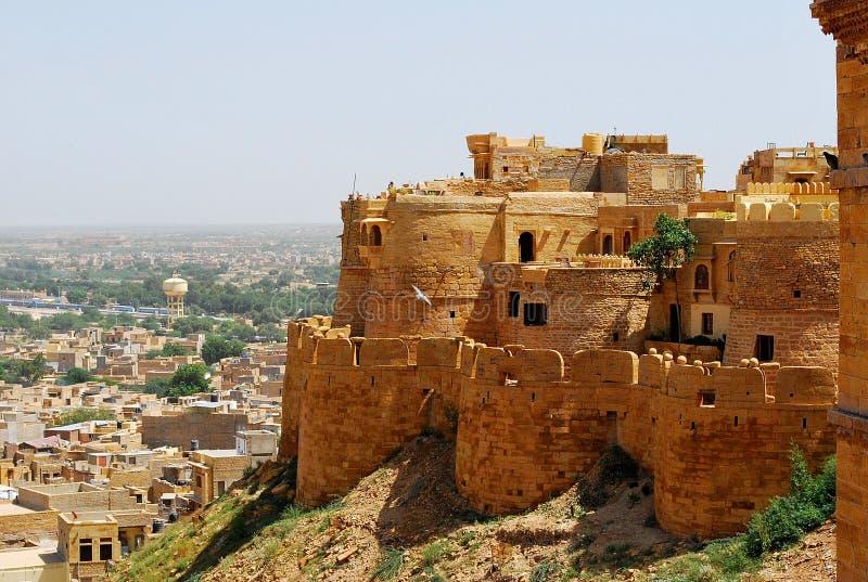 Jaisalmerfort stock afbeelding