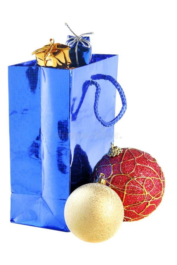 jaj toreb, święta prezent zdjęcie stock