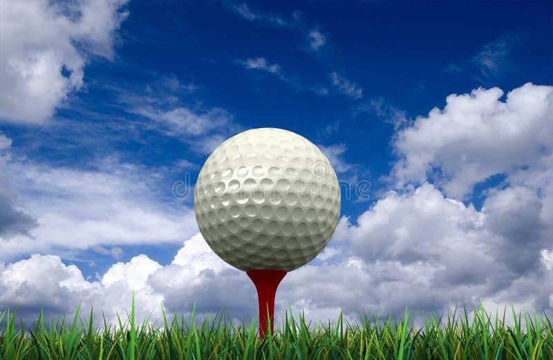 jaja ciupnięcia golf ruch żelaza ilustracja wektor