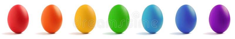jajeczna tęcza obraz royalty free