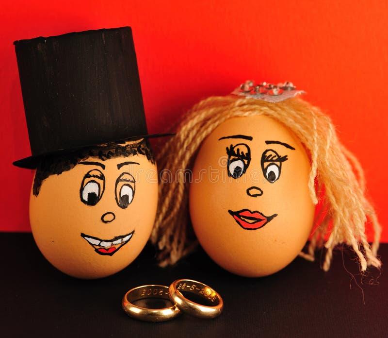 jajeczna zabawa fotografia stock