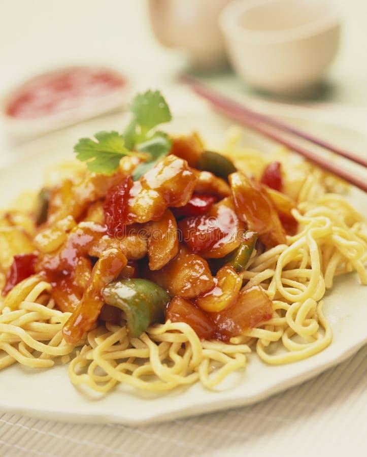 jajeczni Chińczyków kluski obrazy stock