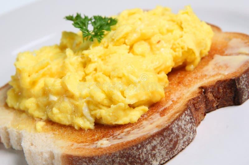 jajecznica jajko obrazy stock